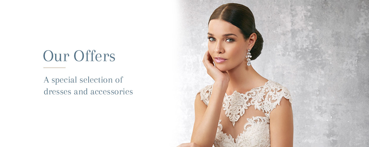 Wedding dress offers at Christina K Bridal Boutique