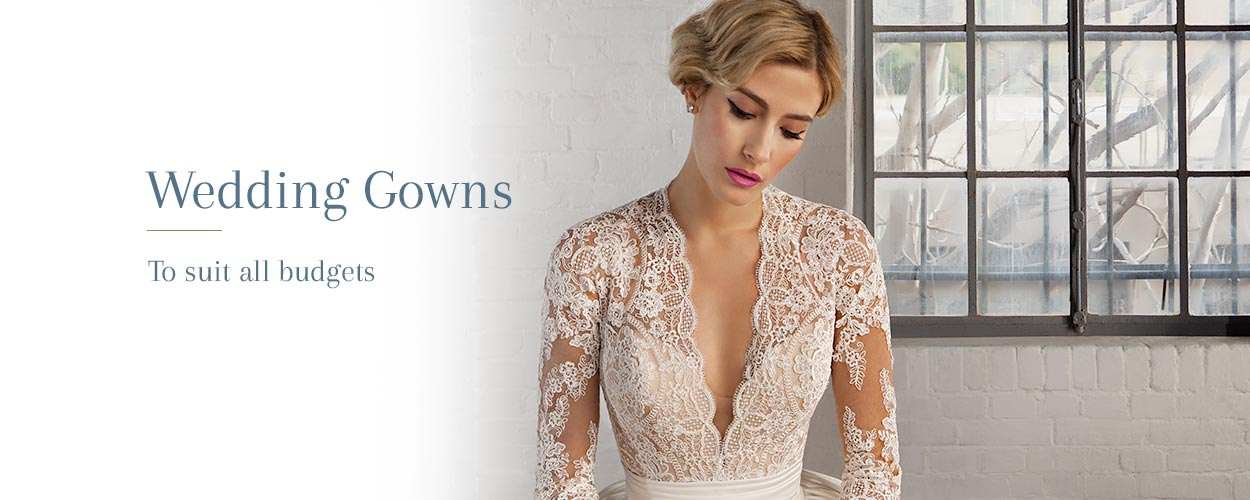Wedding gowns to suit all budgets